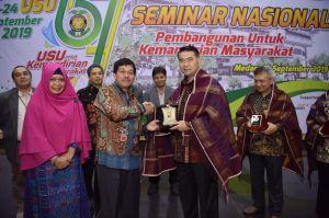 Seminar Nasional USU, Fasha Paparkan Kiat Sukses Pemberdayaan Masyarakat