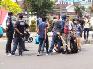 Tak Hanya Cipayung Plus, Sejumlah Siswa STM Ikut Demo