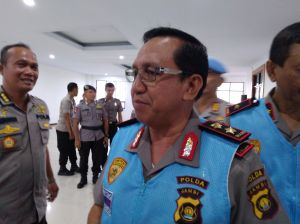 Amankan Pelantikan Presiden,1 SST Personil Polda Jambi BKO Papua di Geser Ke Jakarta