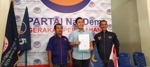 Fikar Azami Daftar Partai Nasdem, Tole : Keputusan Tunggu Dari DPP