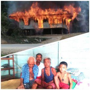 Kasihan, Diusianya yang Seabad Datuk Nancik Kehilangan Tempat Tinggal