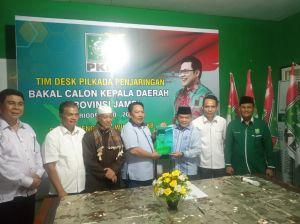Kembalikan Formulir ke PKB, Al Haris Harapkan Dukungan di Pilgub
