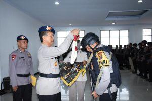 Wakapolda Jambi Sambut Personil Brimob BKO Polda Metro Jaya dan Polda Papua Barat