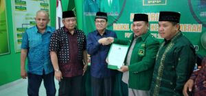Daftar ke PPP, Fachrori Boyong Bos Angsoduo Nur Jatmiko