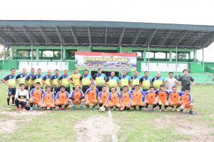 Pangdam II Sriwijaya Apresiasi Permainan Pers FC