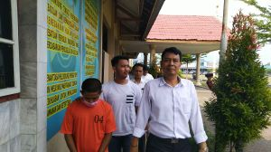 Transaksi Sabu 1 kg  di Halaman Masjid Agung, Bayu Diringkus