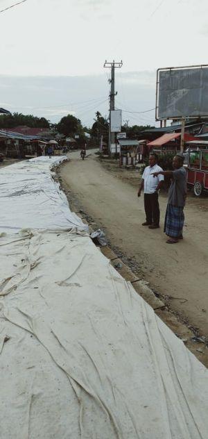 Pengecoran Jalan Bangun Seranten Selesai Bulan Depan