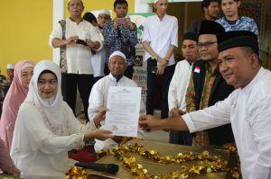 Dipimpin Dirreskrimum, Putu Ucapkan Dua Kalimat Syahadat Sah Peluk Islam
