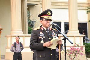 Hari Pahlawan, Kapolda Pimpin Upacara di Mapolda Jambi