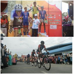 Tour de Singkarak Etape VII di Kerinci Berjalan Sukses