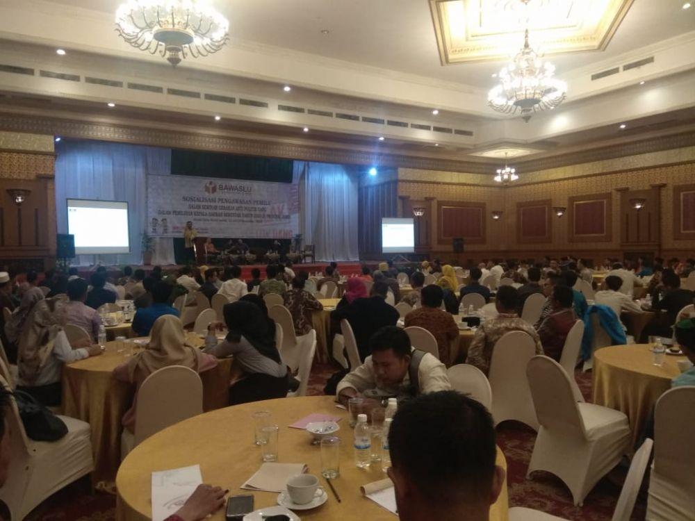 Bawaslu Gelar Seminar Gerakan Anti Politik Uang Pilkada 2020