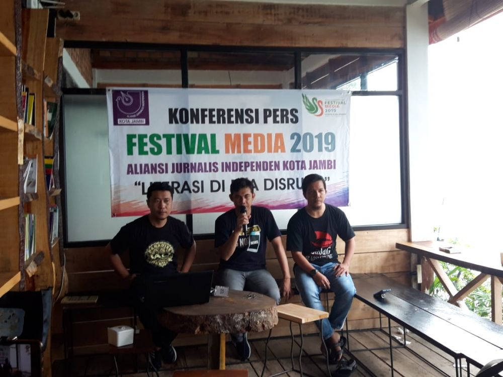 Peserta Talkshow dan Workshop Fesmed 2019 Membludak