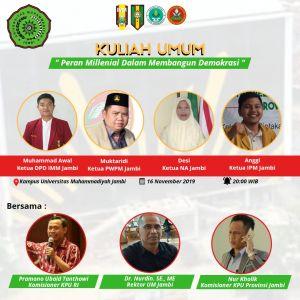 Gelar Seminar, Angkatan Muda Muhammadiyah Hadirkan Komisioner KPU RI