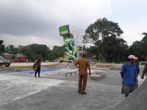 Ada Venue Skate Board dan Panjat Tebing di Danau Sipin