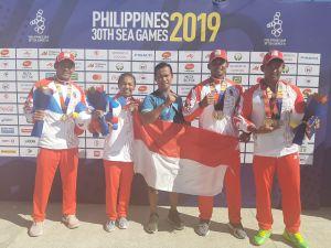 Pedayung Jambi Sumbang Emas SEA Games Filipina
