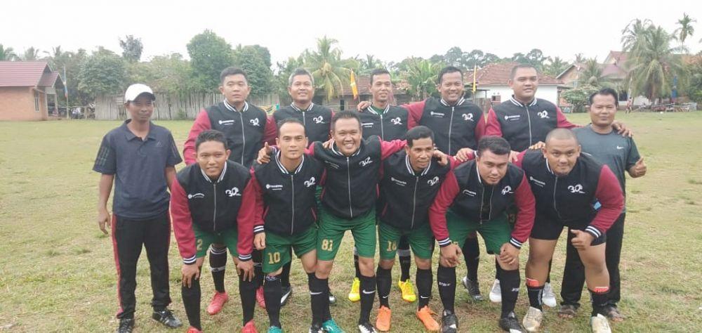 Menang Tipis 1-0, Muarojambi Legend's Jegal Tuan Rumah ke Semi Final