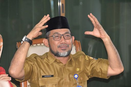 Sekretaris Daerah (Pj.Sekda) Provinsi Jambi, H Sudirman