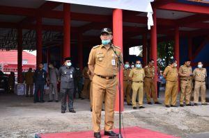 Kota Jambi Bersatu, Fasha Pimpin Apel Besar Gugus Tugas Lawan COVID-19