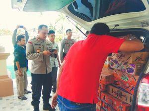 Polisi Tangkap Pelaku Penyelundupan 1.218 Burung