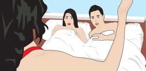 'Gara gara Corona' Perempuan Ini Tangkap Basah Suami Selingkuh dengan Ibunya