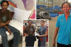 Nasib Gelandangan ini Berubah Drastis Setelah Kembalikan Dompet Pengusaha Berisi Rp 9 Juta