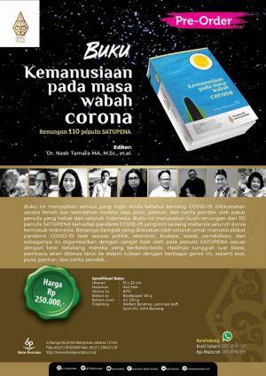 110 Penulis Satupena Ikut Menulis Buku 'Kemanusiaan pada Masa Corona'