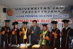 Promosi Doktor Ekonomi Universitas Jambi