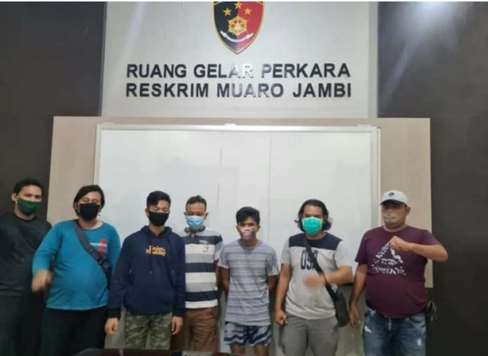 Polisi Ringkus Perampok Bersenpi yang Beraksi di Mestong, Dua Pelaku Warga Kota Jambi