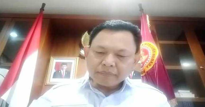 Deputi VII BIN bidang Komunikasi dan Informasi, Wawan Hadi Purwanto