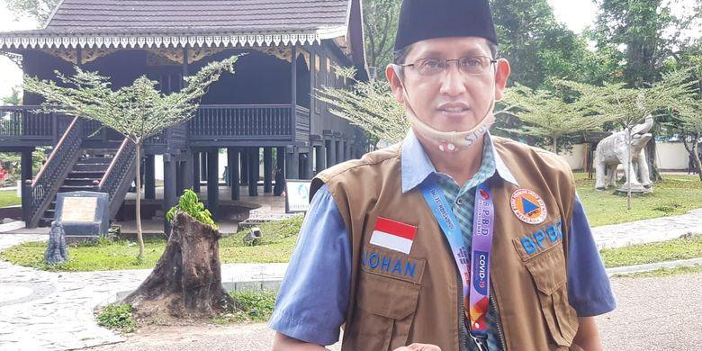 Juru bicara gugus tugas penanganan Covid-19 Provinsi Jambi Johansyah