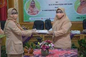 Iin Kurniasih Harap Kinerja Dharma Wanita Unja Terus Meningkat