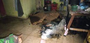 Ditinggal Sendiri, Warga Beliung Tewas Terbakar