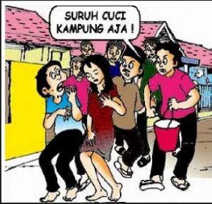 Empat Tersangka Pemerkosaan Lakukan Cuci Kampung