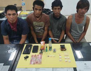 Tangkap Empat Pengedar Sabu, Polisi Bidik BD Besar
