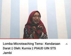 Kurnia Raih Juara III Lomba Microteaching se-Sumatera