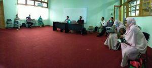 Fakultas Saintek Ikuti Bimbingan Penggugahan Bahan Ajar E-Learning