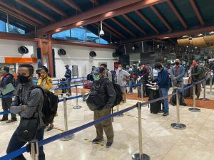 DKI Terapkan PSBB, Bandara Sultan Thaha Perketat Protokol Kesehatan