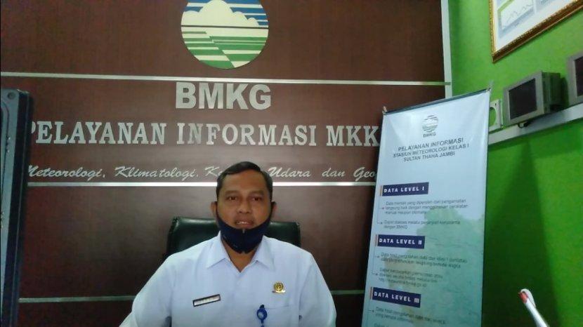 Ibnu, Kepala BMKG Stasiun Jambi