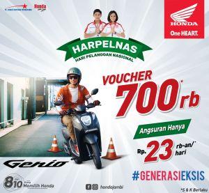 Ini Dia Promo Khusus untuk Pembelian Honda Genio di Sinsen
