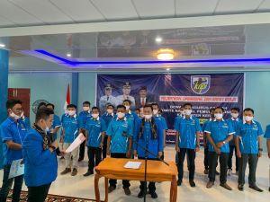 Dinahkodai Satria Gunawan, Pengurus DPD KNPI Kerinci Periode 2020-2023 Resmi Dilantik