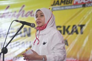 Bangun Jalan Senyerang Hingga KM 91, Program CE-Ratu di Pilgub Jambi