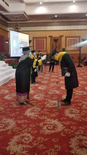 Rapat Terbuka Senat STIE Jambi Wisuda Angkatan XIX Prodi Manajemen Sukses