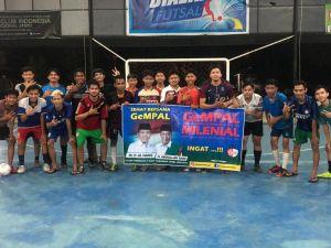 Putra Al Haris, Rivaldi Ikuti Fun Futsal GeMPAL Bersama Milenial Kota Jambi