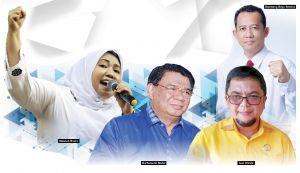 Adu Tuah Masnah, Cik Bur, Ivan dan BBS, Muarojambi Jadi Arena Pertempuran Terpanas Tiga Paslon