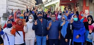 Fikar-Yos Senam Bersama Warga Kecamatan Sungai Penuh
