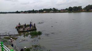 Perbaiki Bronjong Rusak di Danau Sipin