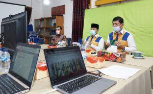 Ikuti Webinar Bersama KPK RI, Fachrori-Syafril Komitmen Wujudkan Pilkada Berintegritas