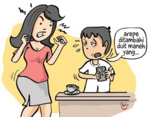Mabuk Judi Malah Telantarkan Anak dan Istri
