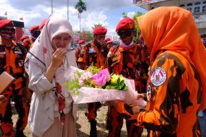 Ketua MPW Pemuda Pancasila Adri Pertegas Dukungan ke CE-Ratu