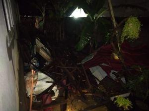 Puting Beliung di Kota Jambi, Satu Orang Tewas tertimpa Reruntuhan Atap Rumah